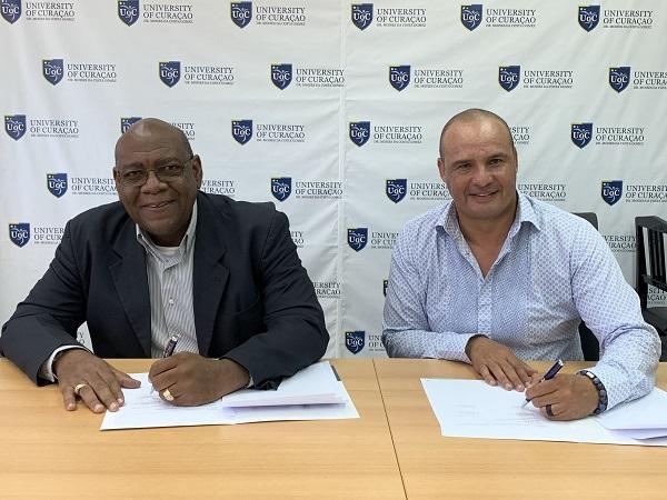 CINEX y la Universidad de Curazao firmaron acuerdo