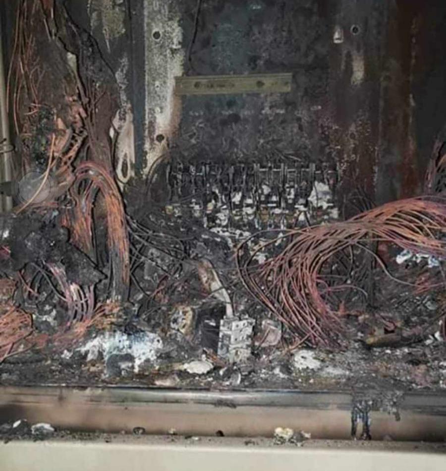 Falla eléctrica afectó toda la isla tras incendio en CRU