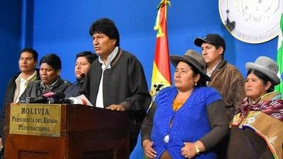 Senadora opositora reclama la presidencia interina de Bolivia
